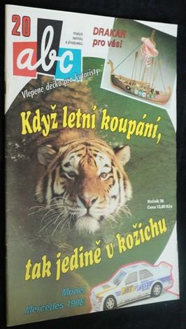 náhled knihy - ABC mladých techniků a přírodovědců. roč.36, č.20