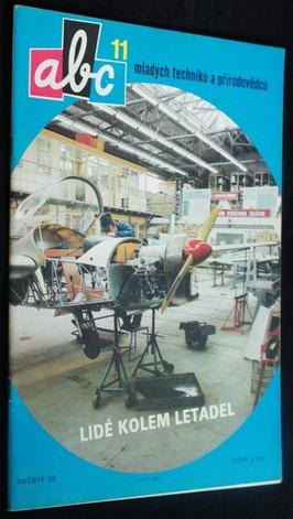 náhled knihy - ABC mladých techniků a přírodovědců. roč.32, č.11