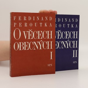 náhled knihy - O věcech obecných I-II (2 svazky, komplet)