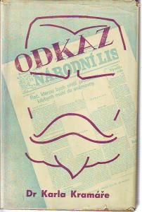 náhled knihy - Odkaz a pravda Dr. Karla Kramáře
