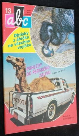 náhled knihy - ABC mladých techniků a přírodovědců. roč.35,č.13