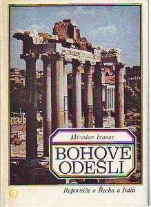 náhled knihy - Bohové odešli. Reportáže o Řecku a Itálii