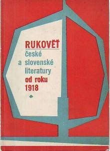 náhled knihy - Rukověť české a slovenské literatury od roku 1918