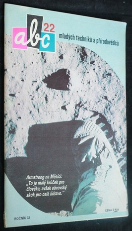 náhled knihy - ABC mladých techniků a přírodovědců. roč.33, č.22