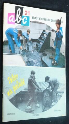 náhled knihy - ABC mladých techniků a přírodovědců. roč.33, č.21