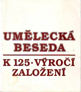 náhled knihy - Umělecká beseda. K 125. výročí založení