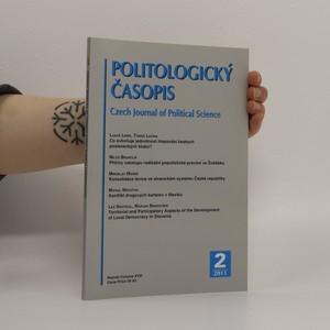 náhled knihy - Politologický časopis roč. XVIII. č. 2 (2011)