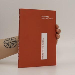 náhled knihy - Dějiny-teorie-kritika 2019/1