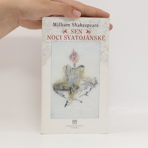 náhled knihy - Sen noci svatojánské : komedie o dvou částech : příležitostný tisk k premiéře 27. a 28. února 1997 v Národním divadle v Praze