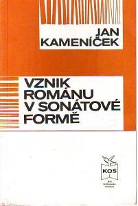 náhled knihy - Vznik románu v sonátové formě