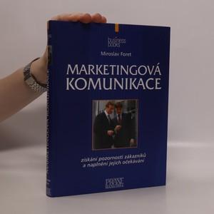 náhled knihy - Marketingová komunikace
