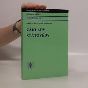 náhled knihy - Základy státovědy