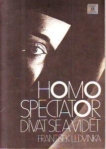 náhled knihy - Homo spectator. Dívat se a vidět