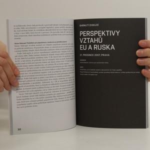 antikvární kniha Budoucnost Evropy je v dialogu = Participative European citizenship, neuveden