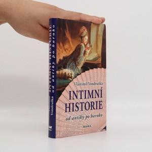 náhled knihy - Intimní historie : od antiky po baroko