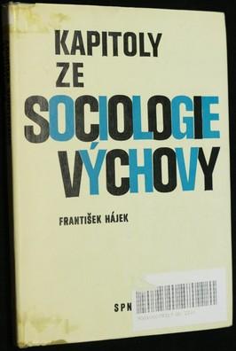 náhled knihy - Kapitoly ze sociologie výchovy