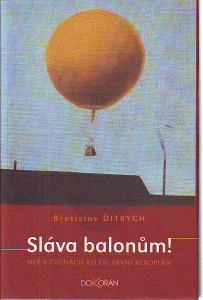 náhled knihy - Sláva balonům! Než v Čechách vzlétl první aeroplán