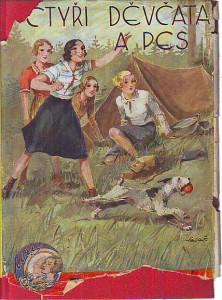 Čtyři děvčata a pes. Dívčí román