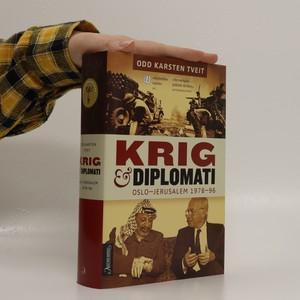náhled knihy - Krig og diplomati: Oslo- Jerusalem 1978-96 (v dánštině)