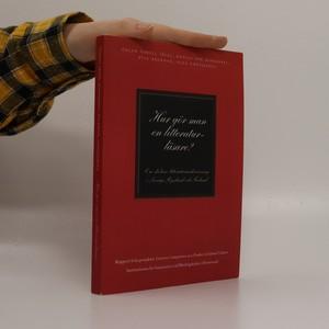 náhled knihy - Hur gör man en litteraturläsare?
