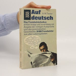 náhled knihy - Auf Deutsch (das Fremdwörter-lexikon)