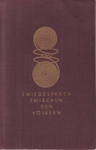 náhled knihy - Zweigespräch zwischen der Völkern. Deutschland und der Norden