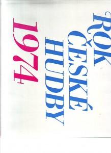 náhled knihy - Rok české hudby 1974