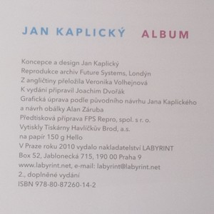 antikvární kniha Album, 2010