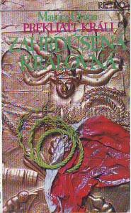 náhled knihy - Prekliati králi 2. Zahrdúsená král'ovna