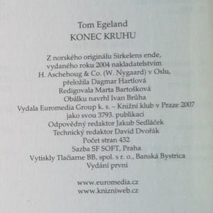 antikvární kniha Konec kruhu, 2007