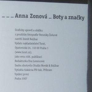 antikvární kniha Boty a značky, 2007