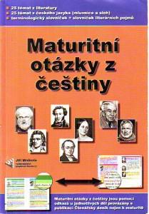 náhled knihy - Maturitní otázky z češtiny