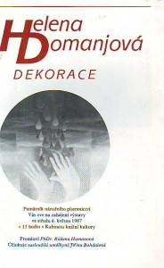 náhled knihy - Helena Domanjová. Dekorace