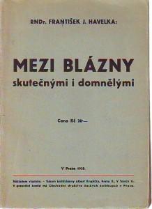 náhled knihy - Mezi blázny skutečnými i domnělými