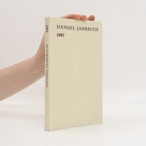 náhled knihy - Händel-Jahrbuch 1987