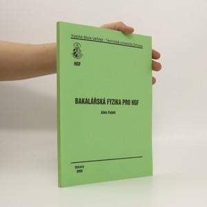 náhled knihy - Bakalářská fyzika pro HGF