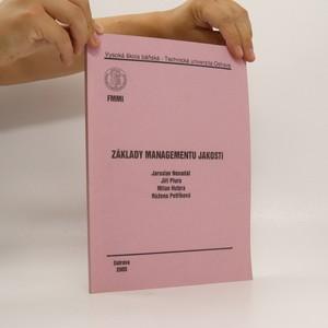 náhled knihy - Základy managementu jakosti
