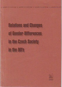 náhled knihy - Relations and Changes of Gender Differences in the Czech Society in the 90's