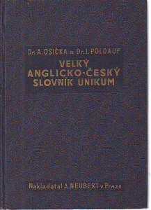 náhled knihy - Velký anglicko-český slovník Unikum