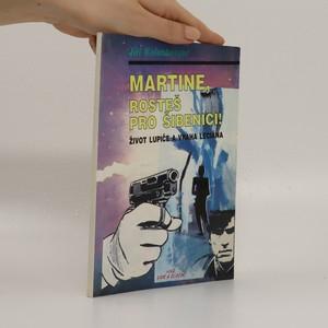 náhled knihy - Martine, rosteš pro šibenici!