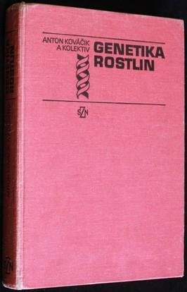 náhled knihy - Genetika rostlin : vysokoškolská učebnice pro vysoké školy zemědělské