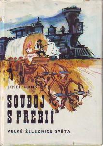 náhled knihy - Souboj s prérií. Velké železnice světa