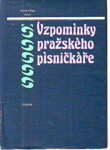 náhled knihy - Vzpomínky pražského písničkáře 1818 - 1897