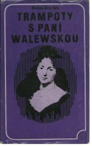 náhled knihy - Trampoty s paní Walewskou