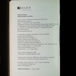 antikvární kniha Pomsta hraběte Gundolfa, 2005