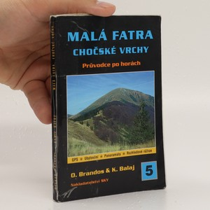náhled knihy - Malá Fatra ; Chočské vrchy : průvodce po horách