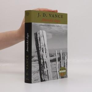 náhled knihy - Americká elegie (podtrhaná zvýrazňovačem viz foto)