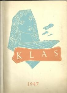 náhled knihy - Klas 1947. Almanach sdružení spisovatelů z Hané