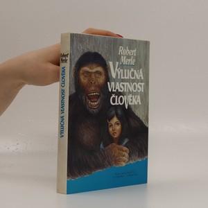 náhled knihy - Výlučná vlastnost člověka