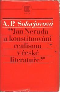 náhled knihy - Jan Neruda a konstituování realismu v české literatuře